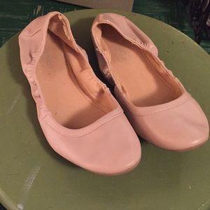 Old navy pink ballet flats